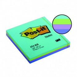 Foglietti Post-it® 654 RB AQUATIC